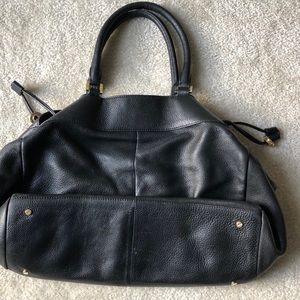 Tory Burch Bags - Tory Burch Black Leather Shoulder Bag
